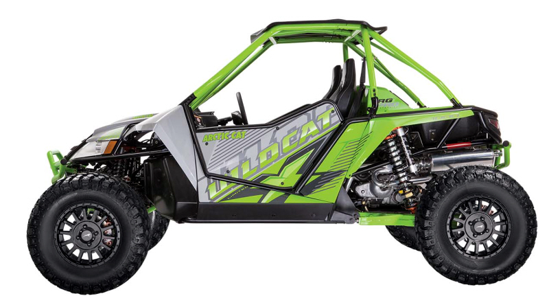 New Arctic Cat Wildcat X Unleashed - ATVConnection.com