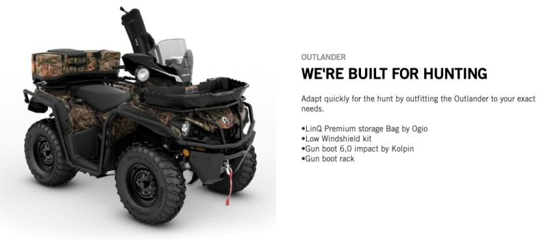 Can-Am 2020 Hunting Accessories Arrive - ATVConnection com