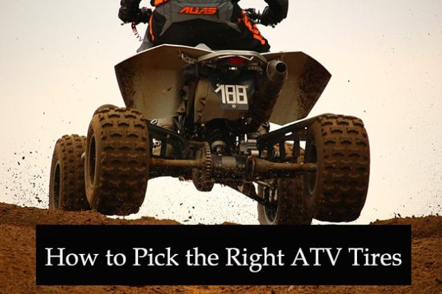 How to Pick the Right ATV Tires