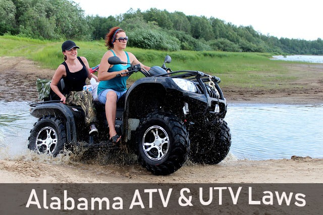 Guide to the ATV and UTV Laws in Alabama