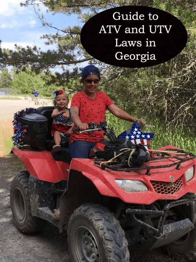 guide to atv and utv laws in georgia