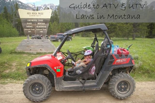 guide to atv and utv laws in montana