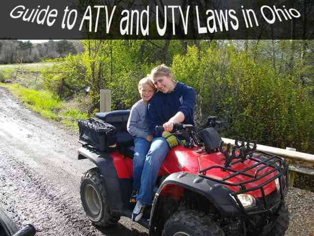 Guide to the ATV and UTV Laws in Ohio