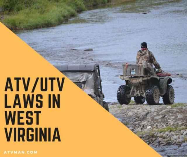 atv laws in west virginia