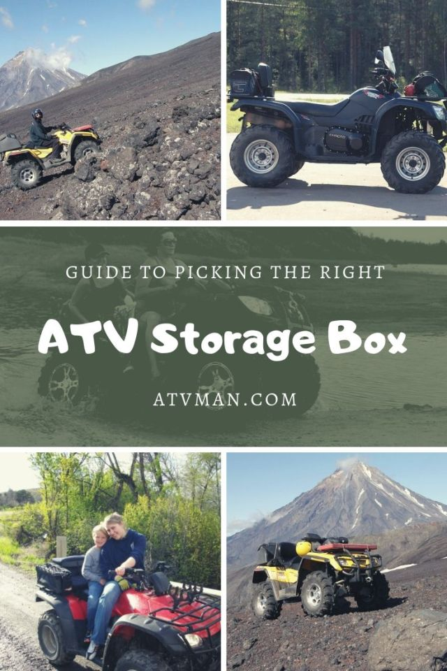 Guide To Picking The Right Storage Box For Your Atv Or Utv Atv Man