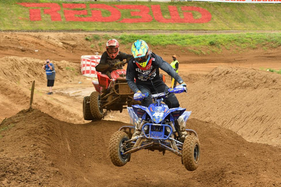 Chad Wienen earned the moto one win, but suffered in moto two after a unfavorable start.