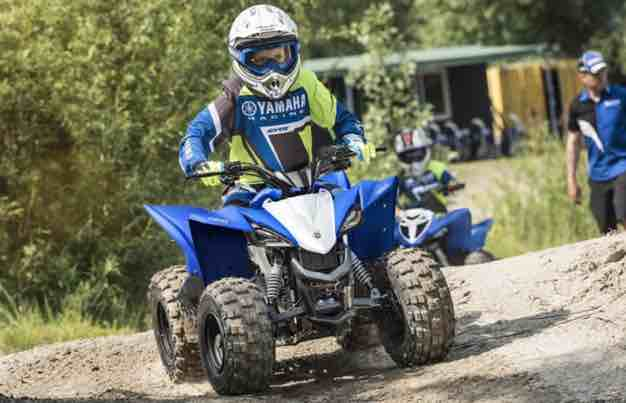 2020 yamaha yfz50 top speed model is perfect for riders 6‑years‑old and up