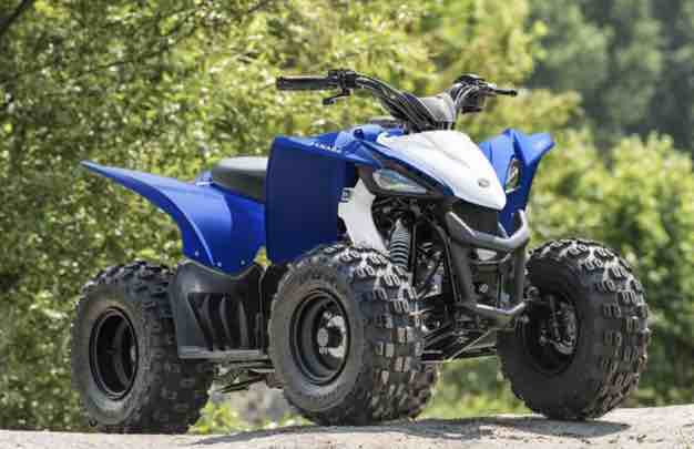 Yamaha yfz50 top speed Boasting electric start