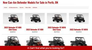2021 Can Am Defender Limited For Sale