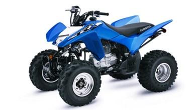 2021 Honda TRX250X Colors