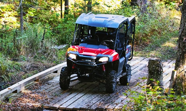 2022 Honda Pioneer 700-4 Features