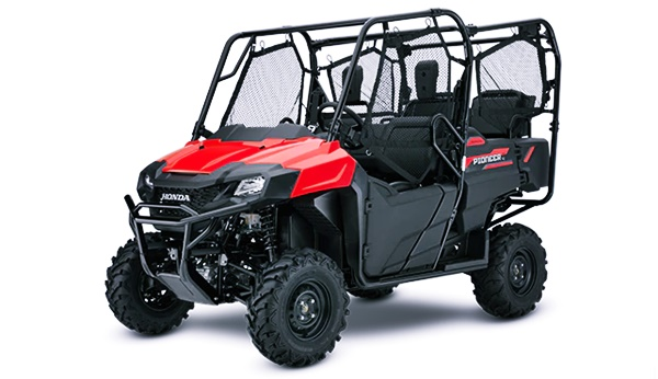 New 2022 Honda Pioneer 700-4 Engine, Specs