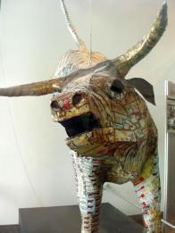 Pataka: Michel Tuffery bull