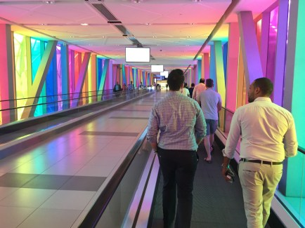 colorful Metro Link to...