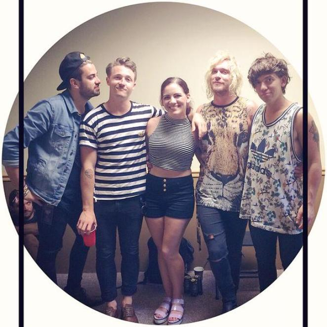 With The Griswolds at FuzzFest, 21 June 2015