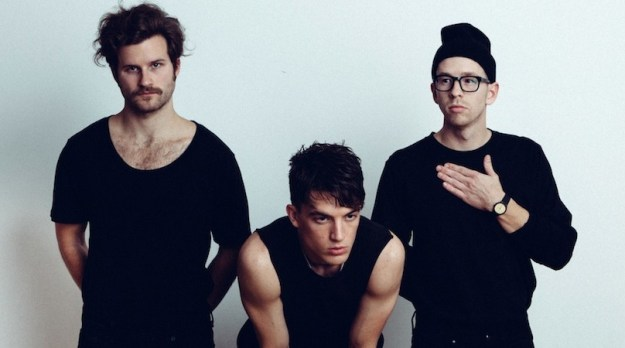 LANY (from left to right): Jake Goss, Paul Klein, Les Priest