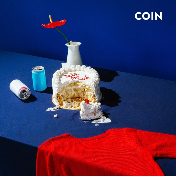 """Talk Too Much"" single art - COIN"