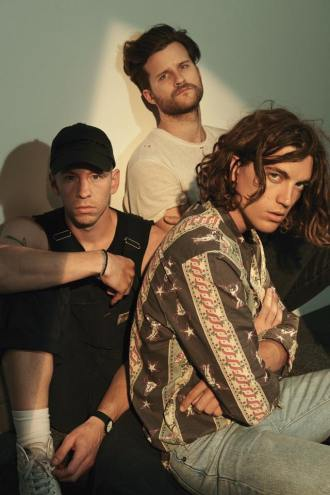 LANY (L to R: Les Priest, Jake Goss, Paul Klein)