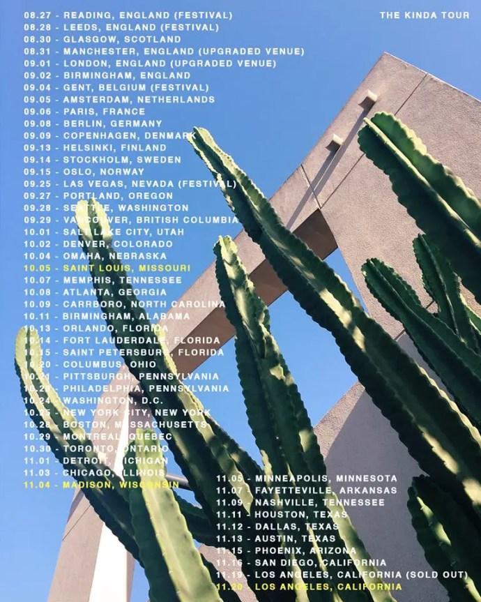LANY - kinda Tour Fall 2016