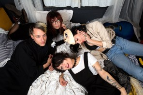 From American Tragic to Happy Endings: A Conversation with Wax Idols