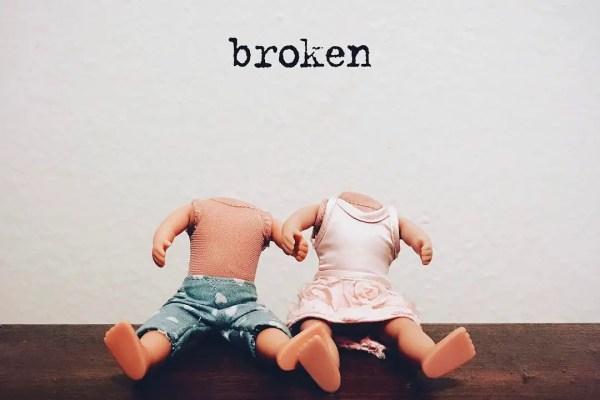 broken - lovely.the.band single art