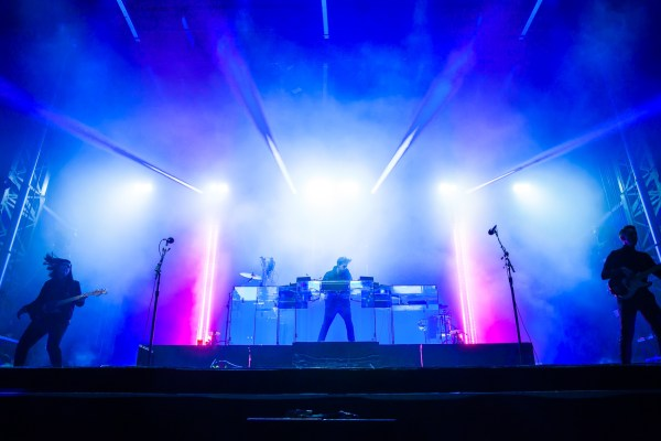 The xx © Moustache, live at Boston Calling 2017