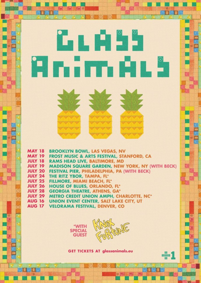 Glass Animals 2018 Tour Dates