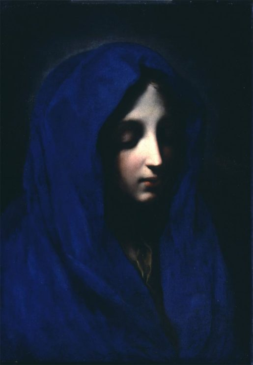 Blue Madona by Carlo Dolci, photo © Sarasota Visual Art