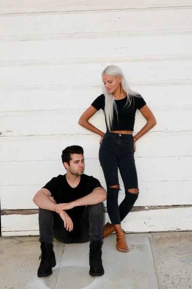 Kyan Palmer & Haley Vassar © Jennifer Bush