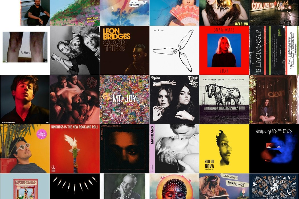 5dbe4154 Atwood Magazine's Best Albums of 2018... Part 1