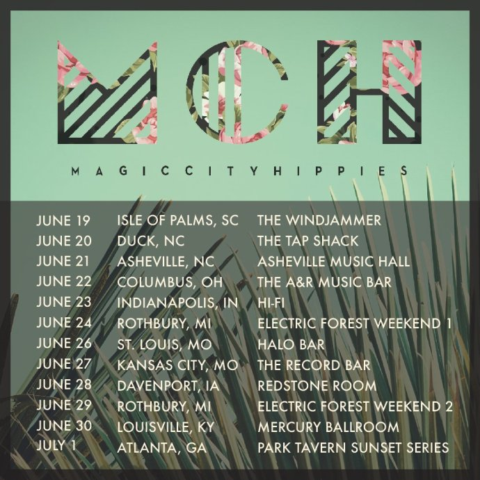 Magic City Hippies summer tour 2018