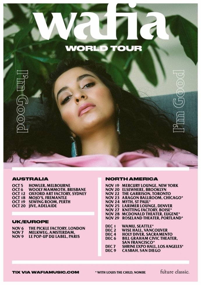 Wafia - World Tour 2018