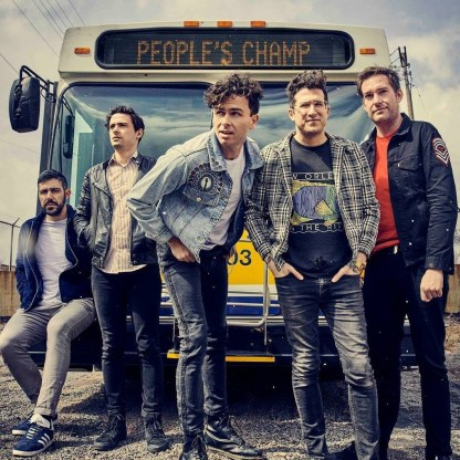 "The ""People's Band"": Arkells © Matt Barnes"
