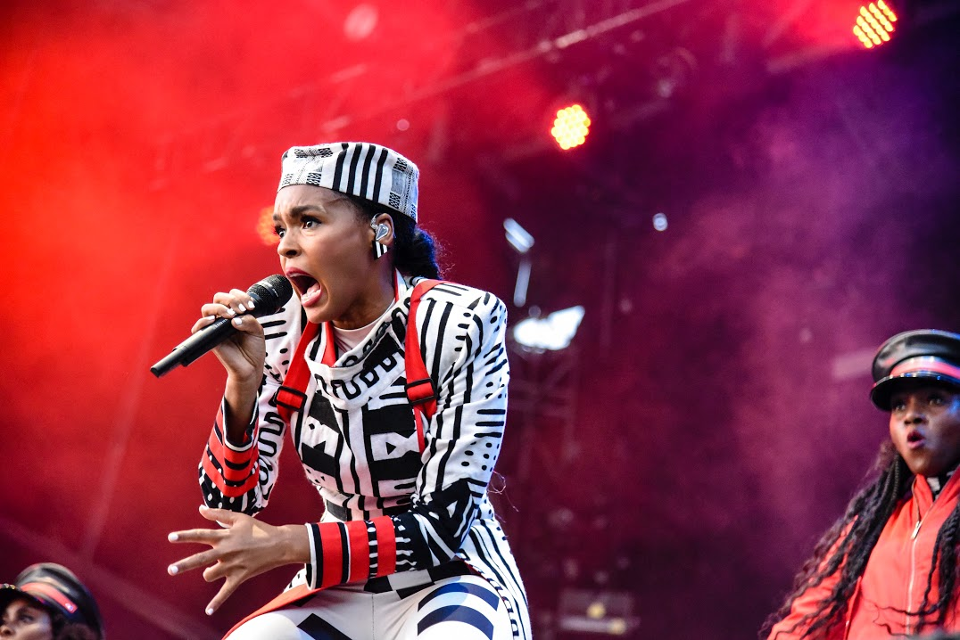 Janelle Monáe performs at Mempho Music Festival 2018 © Baylee Less