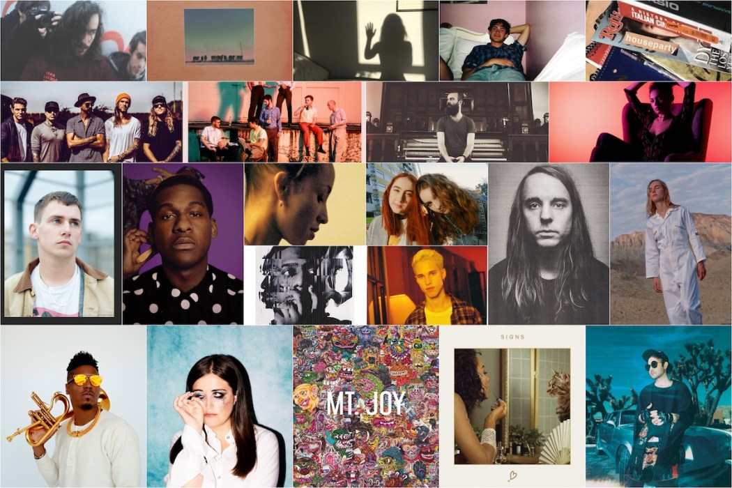 Atwood Magazine's Spotify Wrapped 2018 art