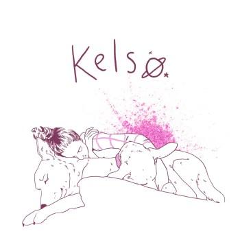 """""""Glitter"""" - Kelso single art"""