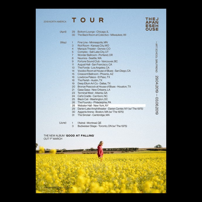 The Japanese House US Tour 2019