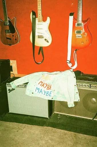"Valley's ""Maybe"" jean jacket © Becca Hamel"