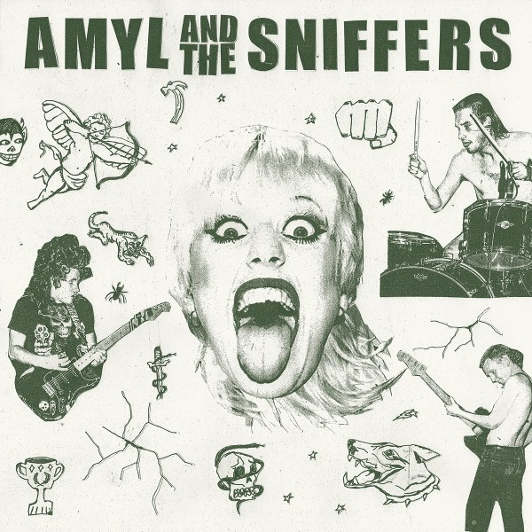 Amyl and The Sniffers Album Cover