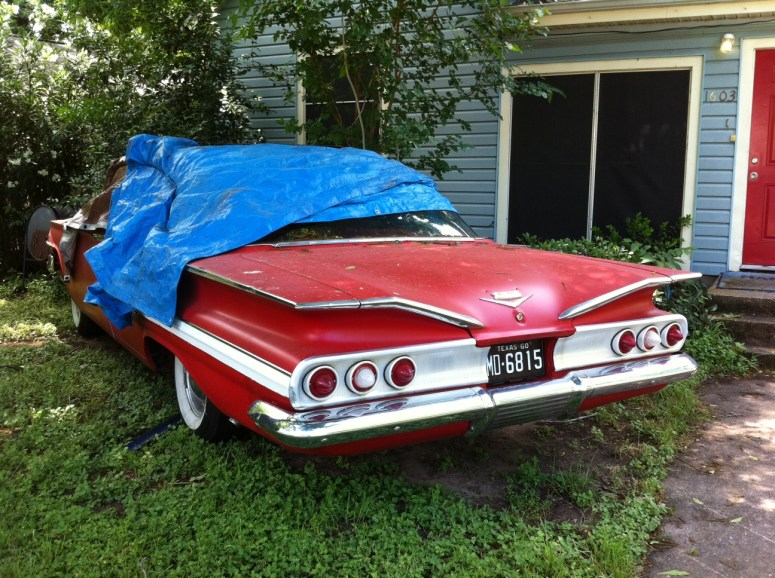 1960 Chevy Impala In East Austin Near Fiesta Gardens on coolest red trucks ford and chevy