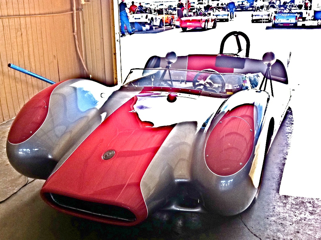 Rare Vintage Dolphin America Race Car at Recent Corinthian Races ...