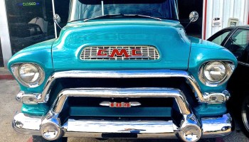 1956 GMC 100 Pickup on S  1st Street | ATX Car Pictures | Real Pics