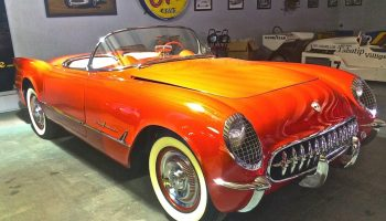Corvette C1 Restomod at Motoreum in NW Austin   ATX Car Pictures