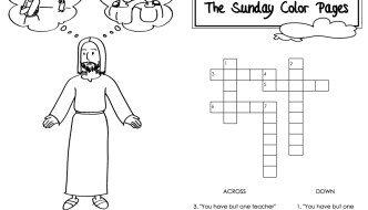 31st Sunday In Ordinary Time Coloring Pages