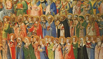 create a family litany of saints