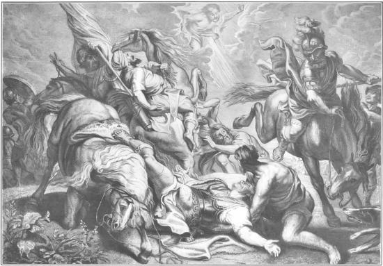 Conversion of Paul (saul)