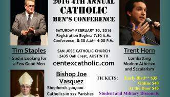 Iron Sharpens Iron – 2016 Catholic Men's Conference