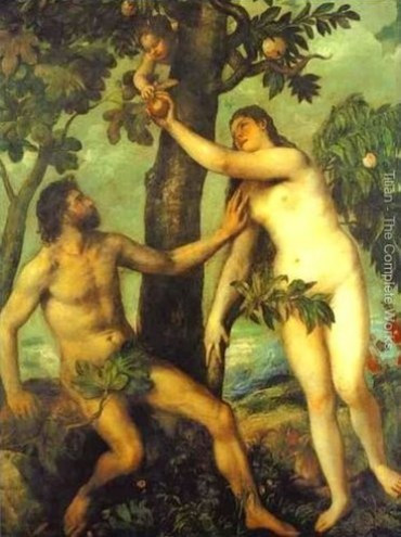 Adam and Eve and the desire for something other than God