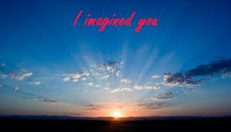 I Imagined You