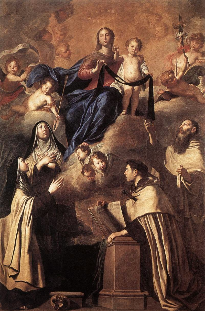 "The Brown Scapular and ""The First Born"" (Col. 1:15)"